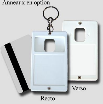 Creo-carte Keychain - Blank Card Holder