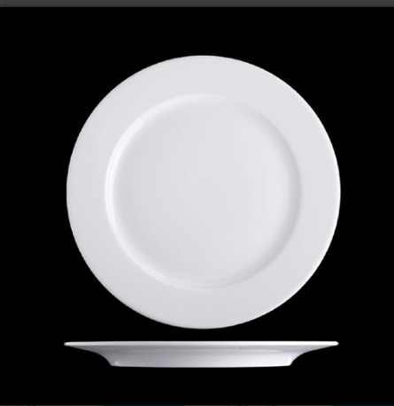 Plate flat 2 inch Bayern - Hotels and restaurants (31cm)