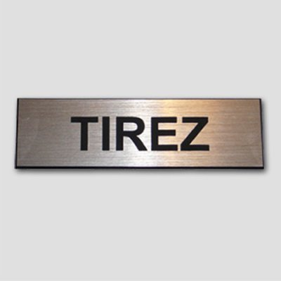 Signage TIREZ money